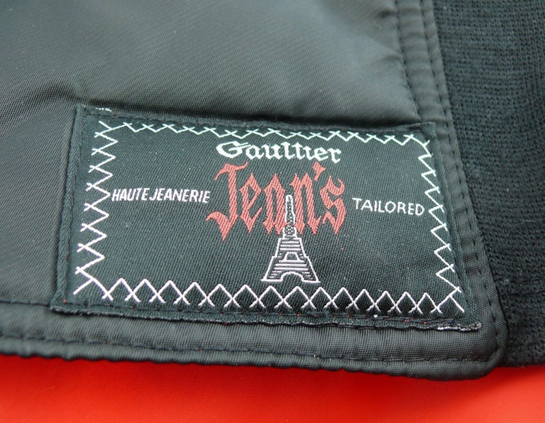 Jean Paul Gaultier Vintage Black