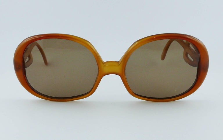 Christian Dior Vintage Sunglasses In Good Condition For Sale In French Riviera, Cote d'Azur