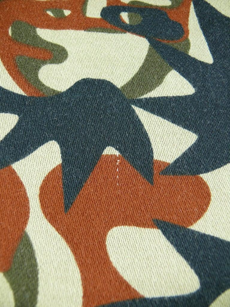 Jean Paul Gaultier Vintage Camouflage Faces Pants Trousers For Sale 6