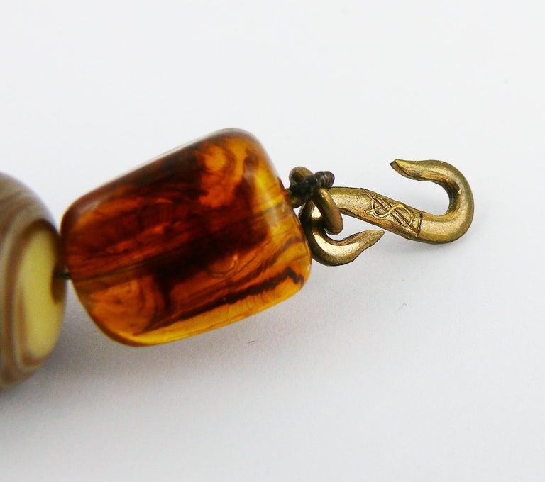 Yves Saint Laurent YSL Vintage 1970s Ball Necklace For Sale 10