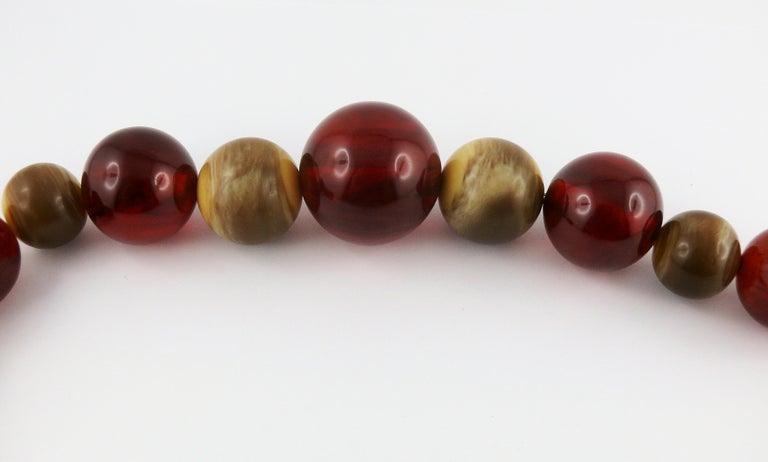 Yves Saint Laurent YSL Vintage 1970s Ball Necklace For Sale 3