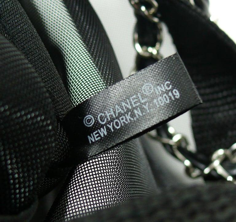cc05919c97b7 Chanel Mesh Tote Shopping Gift Bag For Sale 9