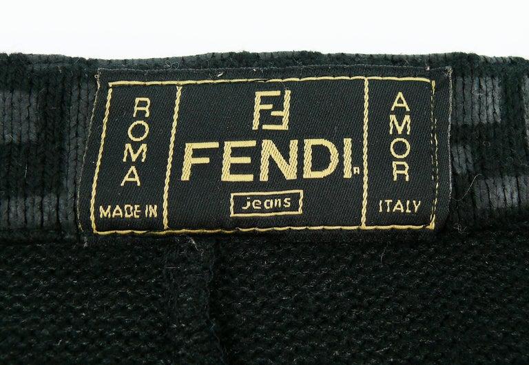 Fendi All Over Logo Skirt For Sale 2
