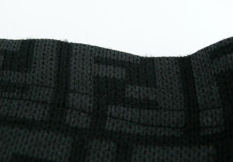 Fendi All Over Logo Skirt For Sale 4
