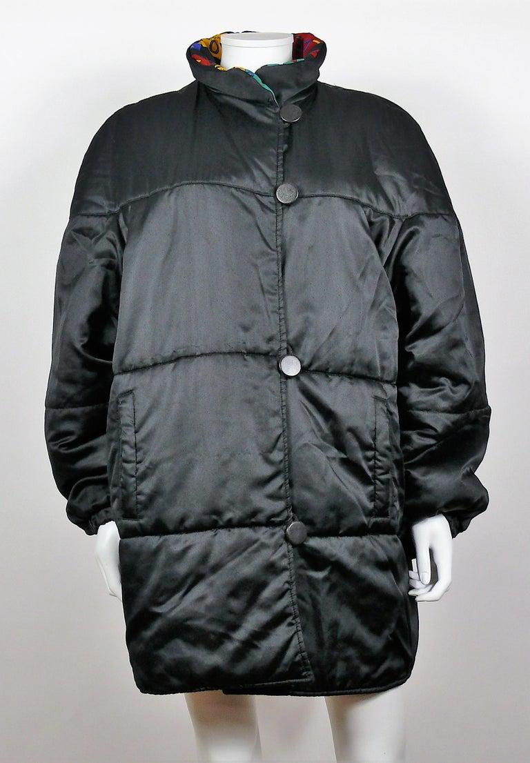 Yves Saint Laurent Vintage Oversized Love Coat For Sale 3