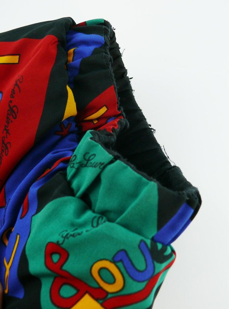 Yves Saint Laurent Vintage Oversized Love Coat For Sale 7