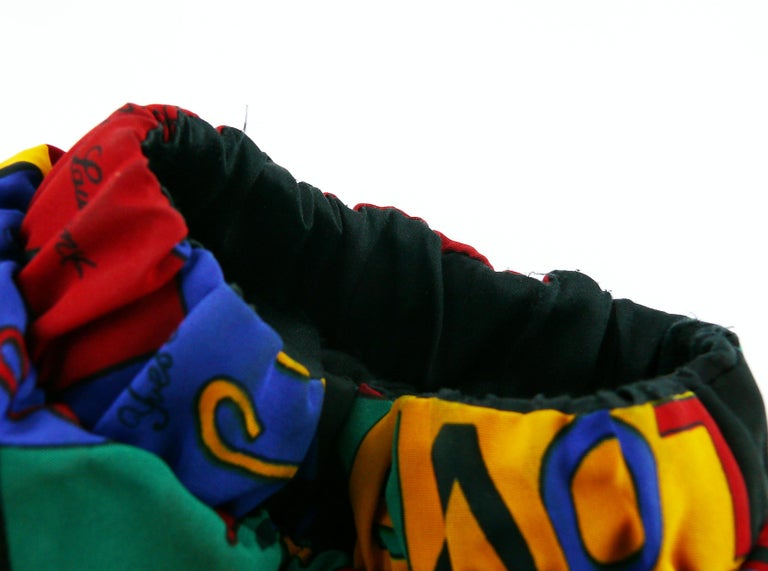 Yves Saint Laurent Vintage Oversized Love Coat For Sale 5