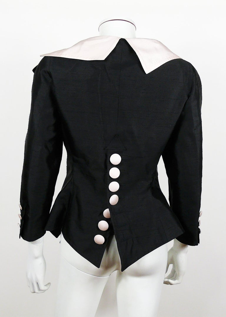 Christian Lacroix Vintage 18th Century Inspired Jacket In Excellent Condition For Sale In Nice, FR