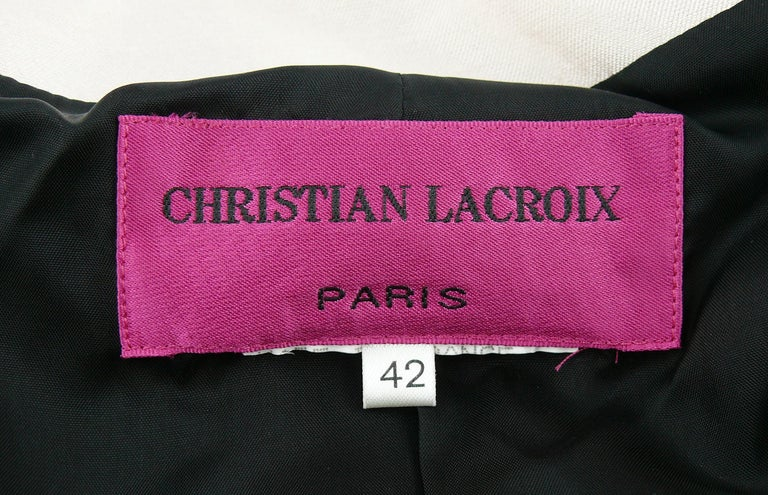 Women's Christian Lacroix Vintage 18th Century Inspired Jacket For Sale