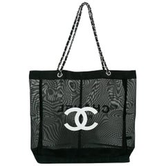 Chanel Mesh Tote Shopping Promotional Gift Bag