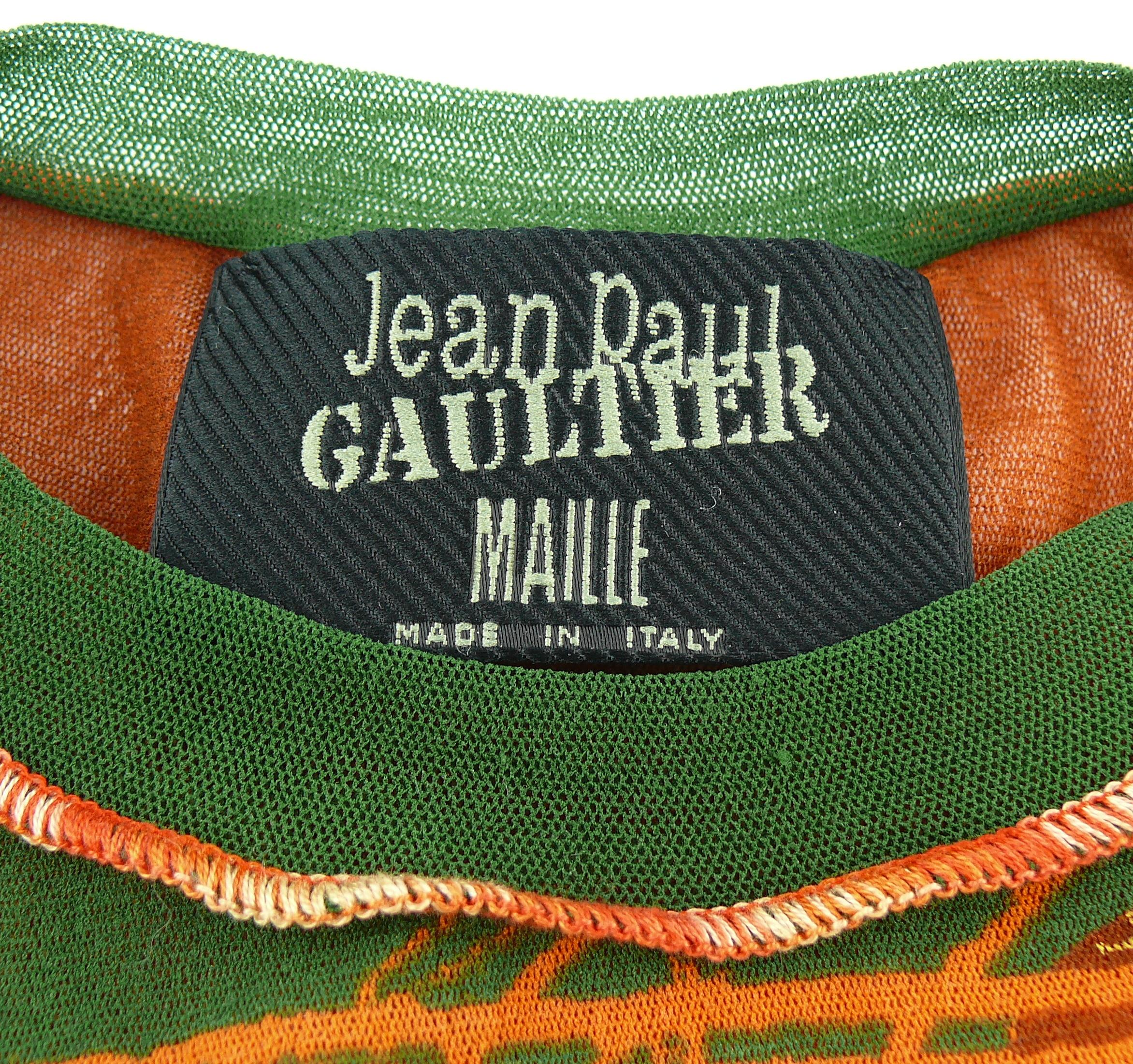 5eb1d0e81da Jean Paul Gaultier Vintage Venus de Milo Sheer Mesh Top Size S at 1stdibs