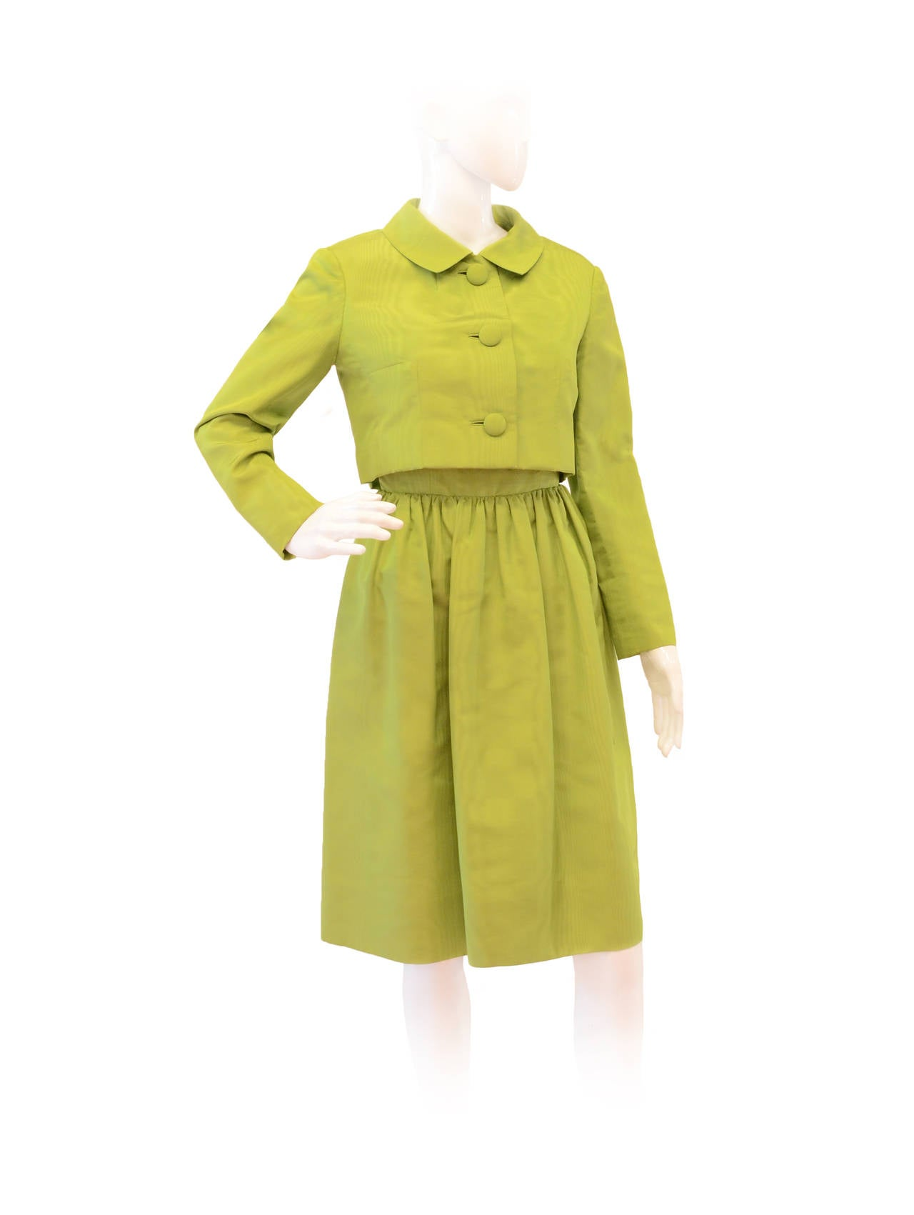 Christian Dior 2pc Dress Suit For Sale at 1stdibs