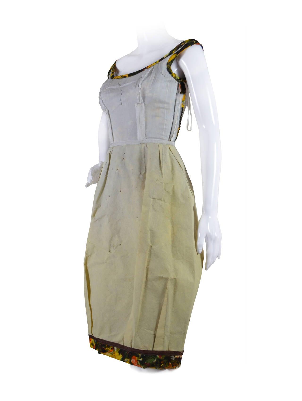 CEIL CHAPMAN 1950's Cocktail Dress 5