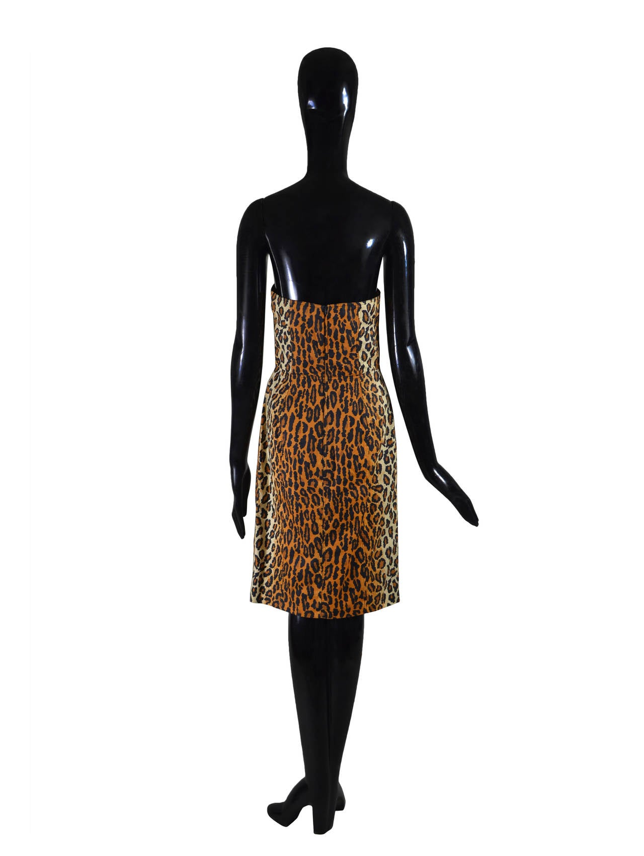 1989 Patrick Kelly Cocktail Dress In Good Condition For Sale In Palm Beach, FL