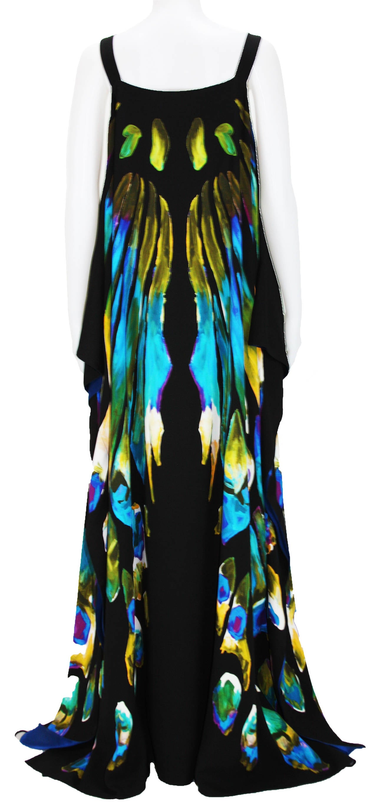 New ETRO EXOTIC & LUXURIOUS BUTTERFLY KAFTAN GOWN DRESS 3