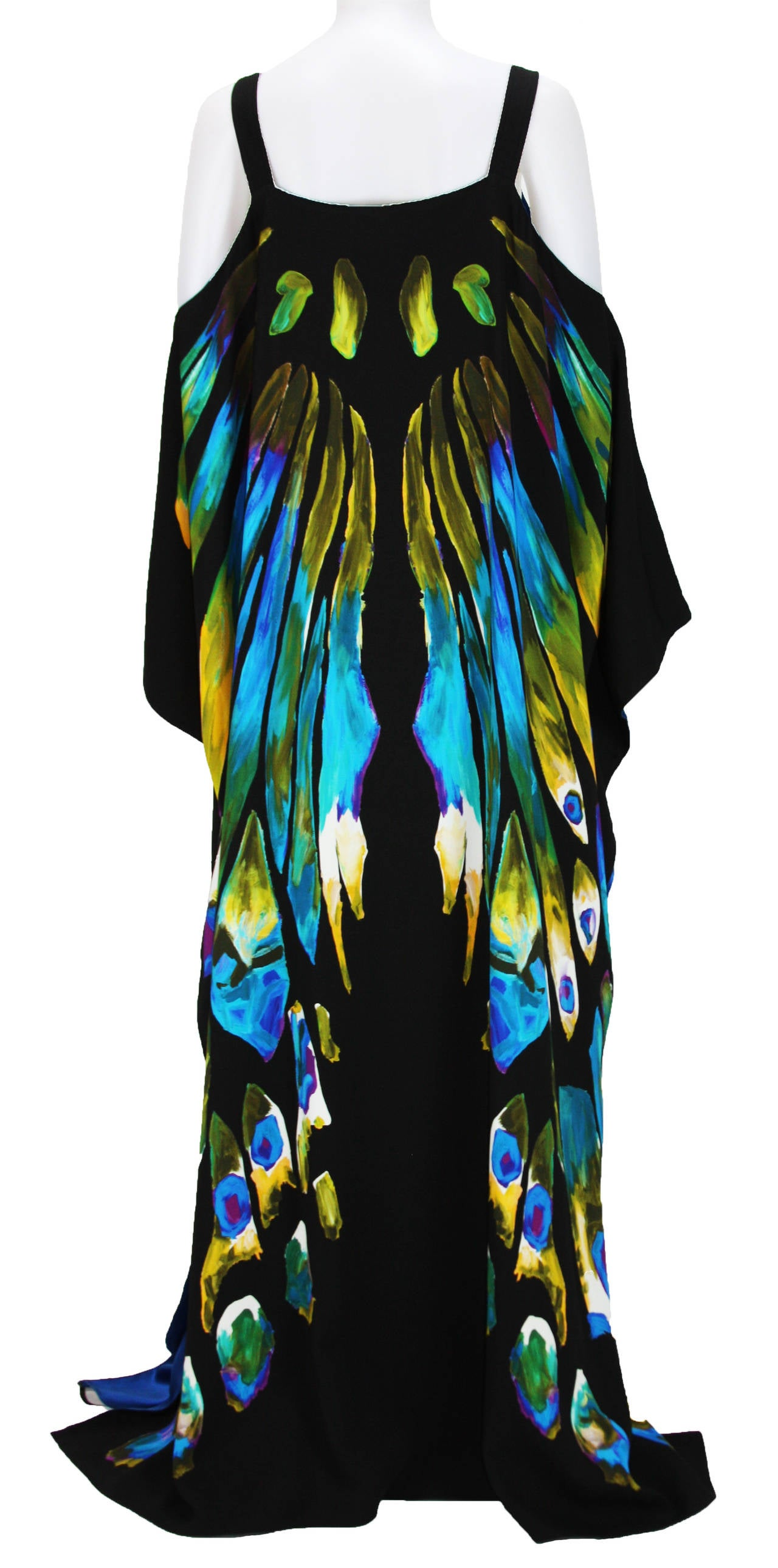 New ETRO EXOTIC & LUXURIOUS BUTTERFLY KAFTAN GOWN DRESS 4