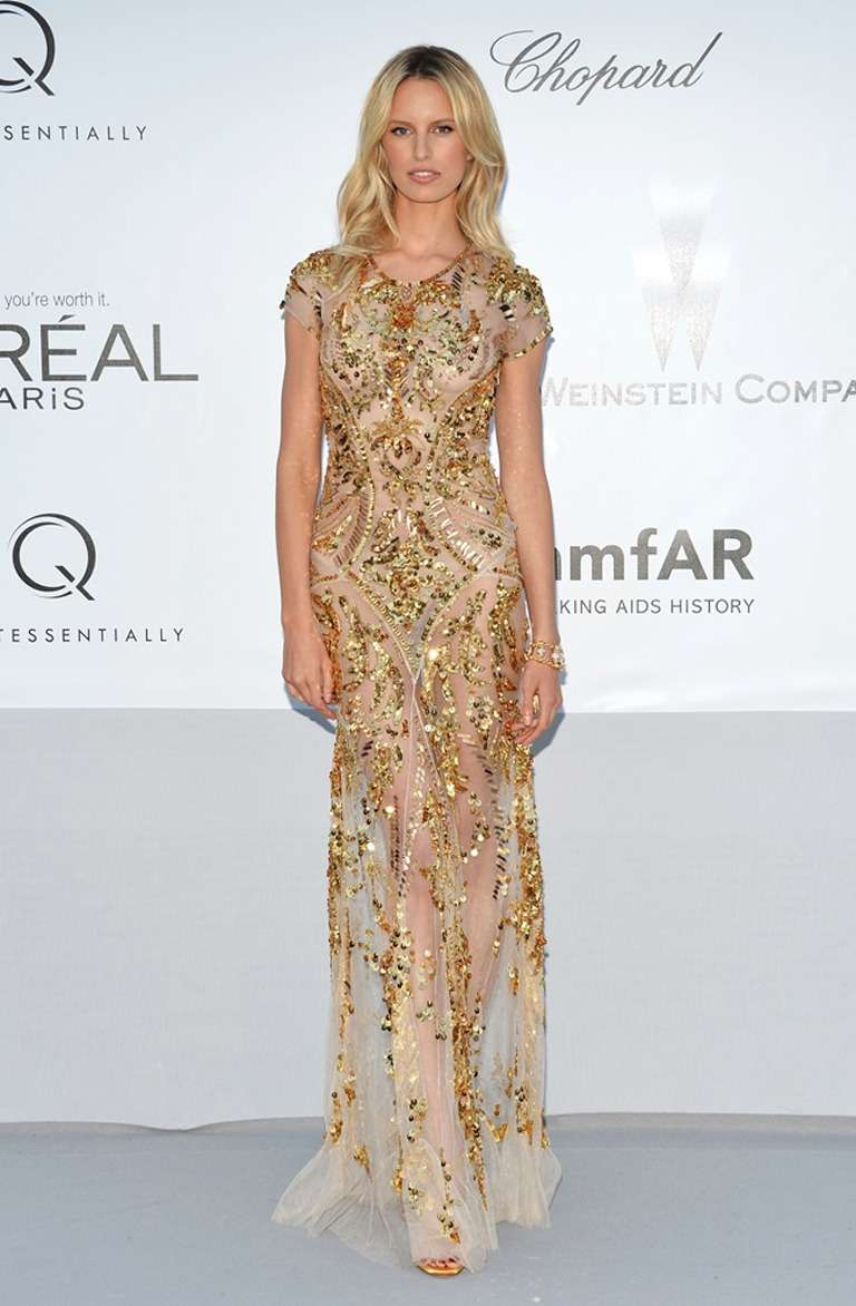 BRAND NEW ROBERTO CAVALLI EMBROIDERED TULLE GOWN LIMITED EDITION ONLY SIX  DRESSES HAS BEEN CREATED IT
