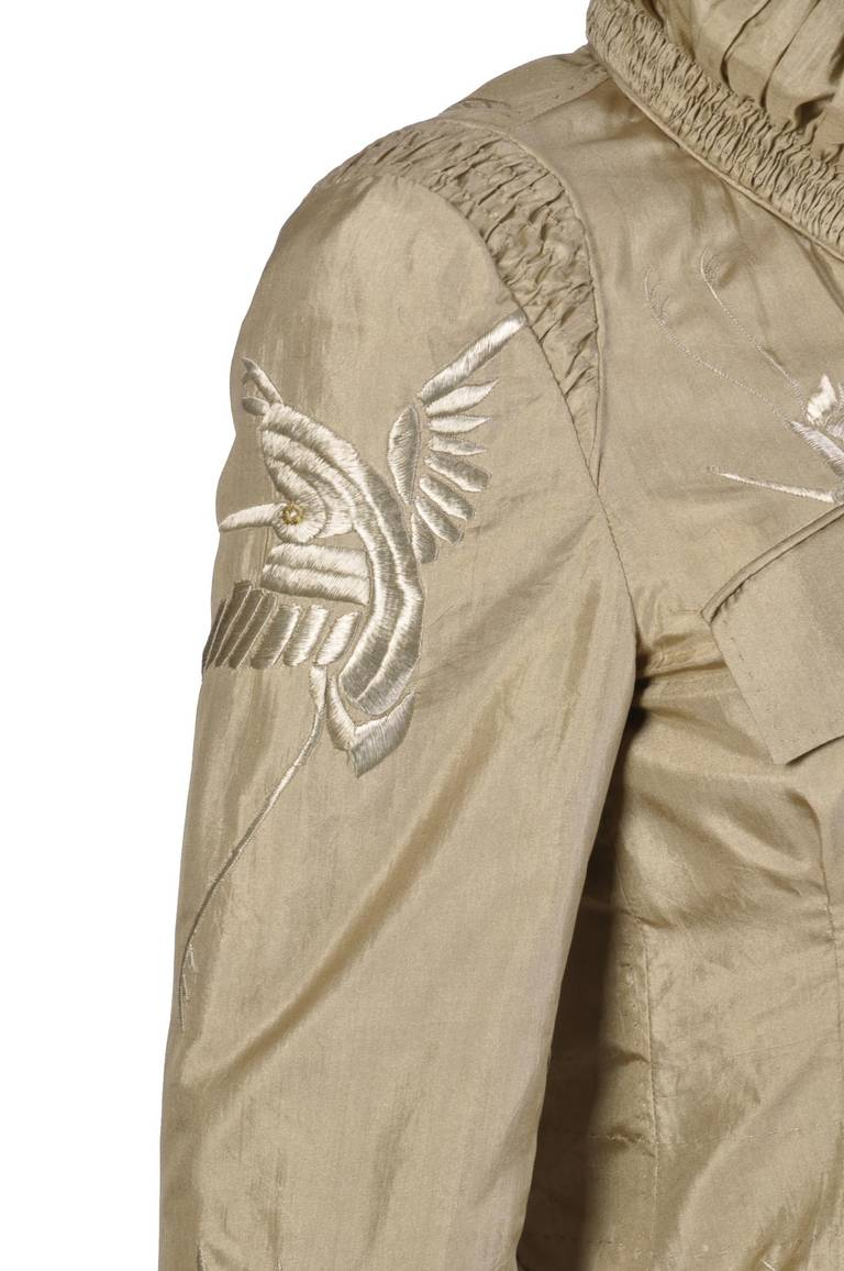 Women's S/S 2003 Tom Ford for Gucci Embroidered Jacket For Sale