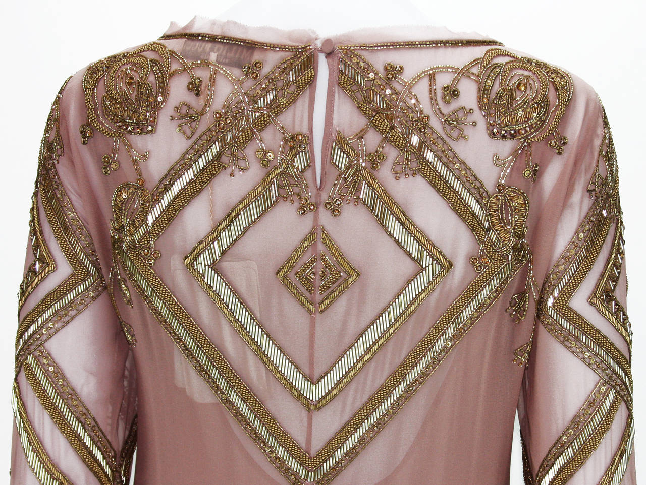 New EMILIO PUCCI Embellished Silk Dress 7