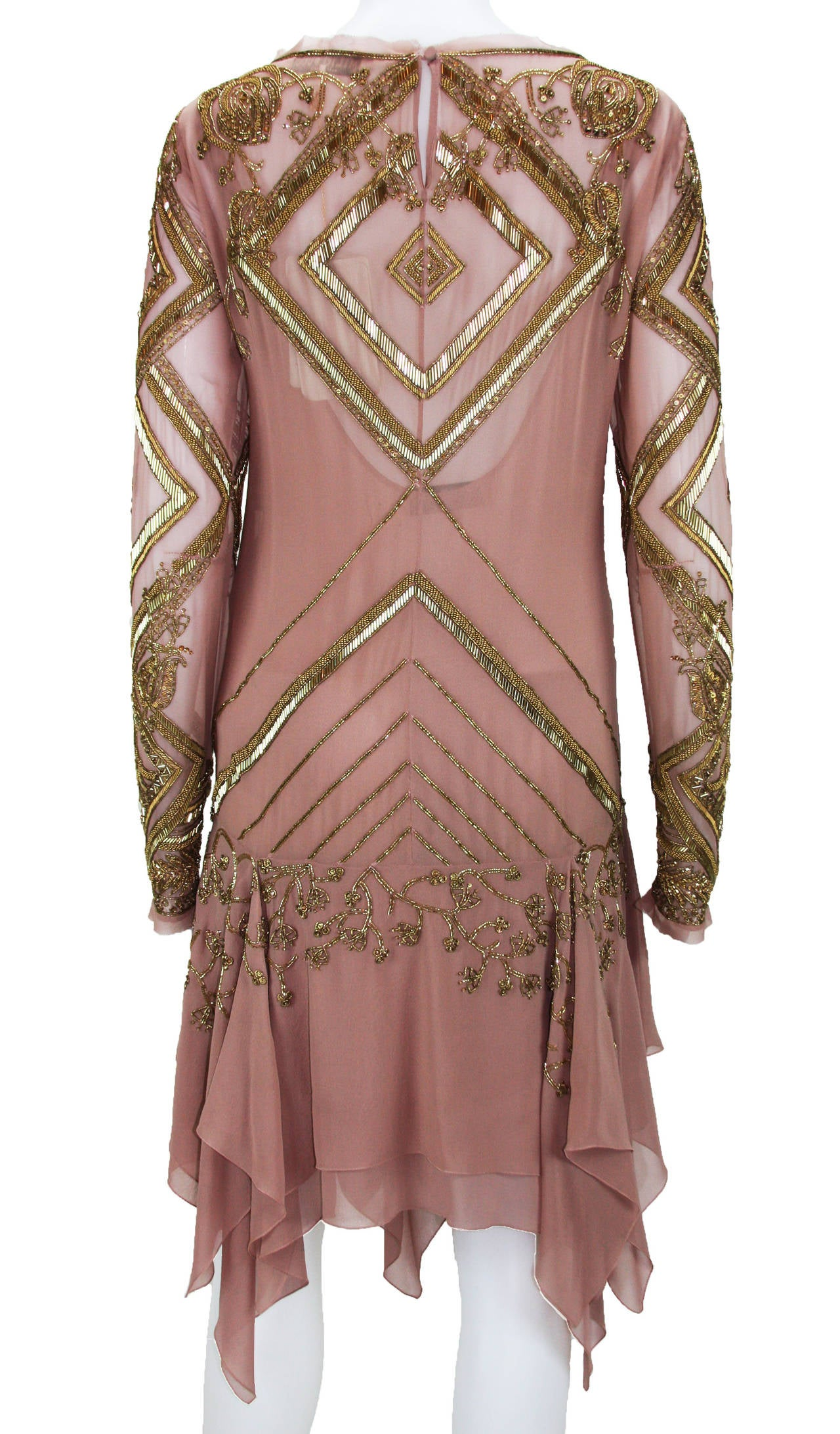 New EMILIO PUCCI Embellished Silk Dress 6