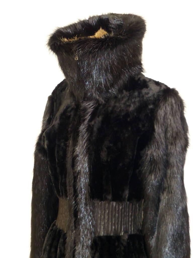 Tom Ford For Yves Saint Laurent Beaver And Fox Fur Runway