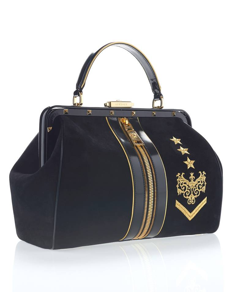 New VERSACE Zippered Doctor Bag 3