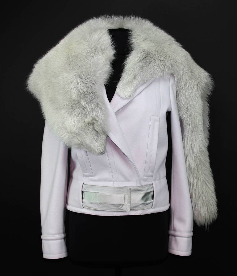 F/W 2004 Tom Ford for Gucci Jacket with Fox Fur 42 - 6 3