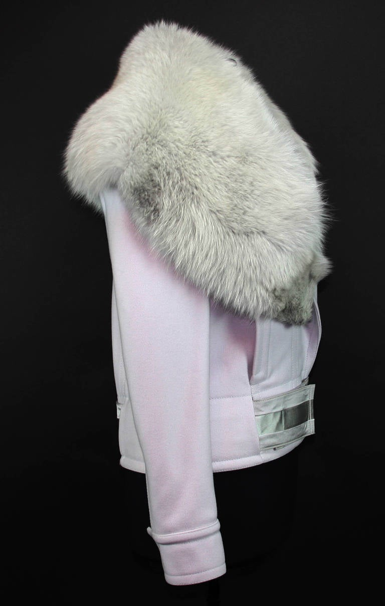 F/W 2004 Tom Ford for Gucci Jacket with Fox Fur 42 - 6 4