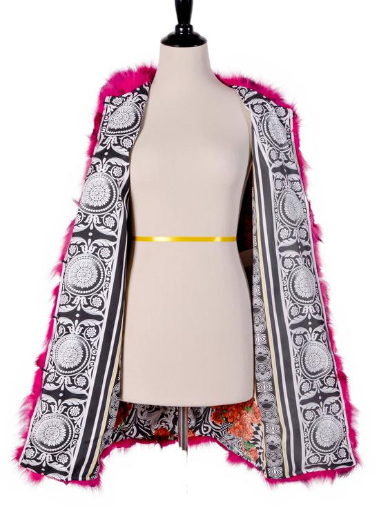 Versace Versus Fox Sleeveless Coat Vest 2
