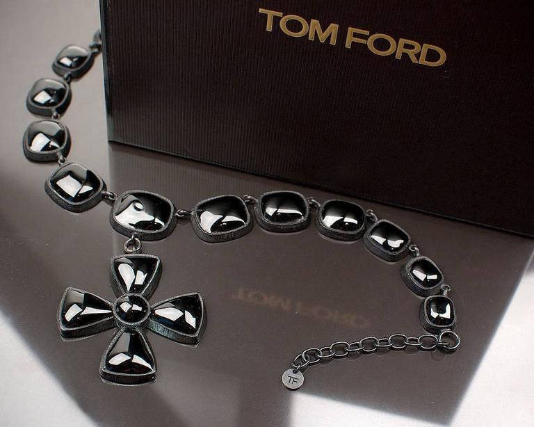 Women's Tom Ford necklace with cross For Sale