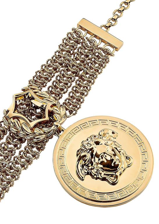 Versace Take Your Accessorizing To A New Level Of Luxury With This Iconic Medusa Bracelet