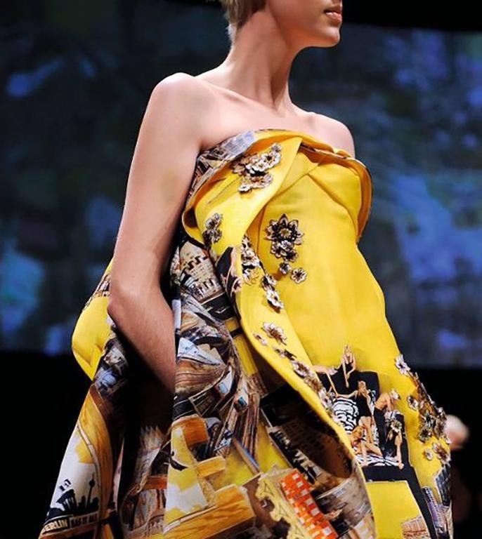 Versace Tim Roeloffs art print Dress 9