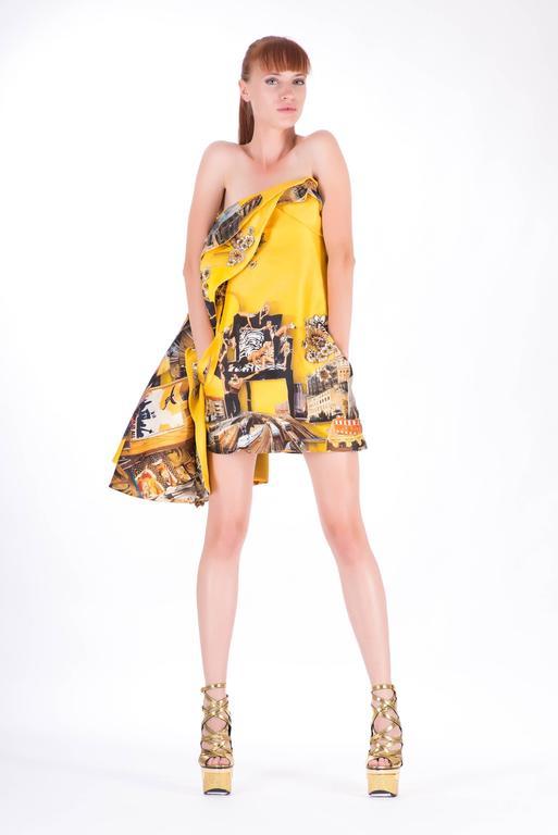 Versace Tim Roeloffs art print Dress 2