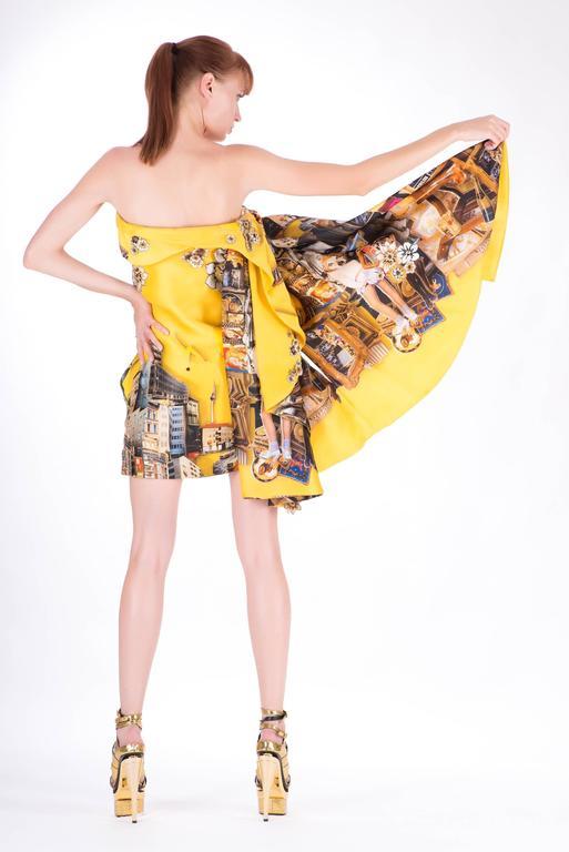 Versace Tim Roeloffs art print Dress 5