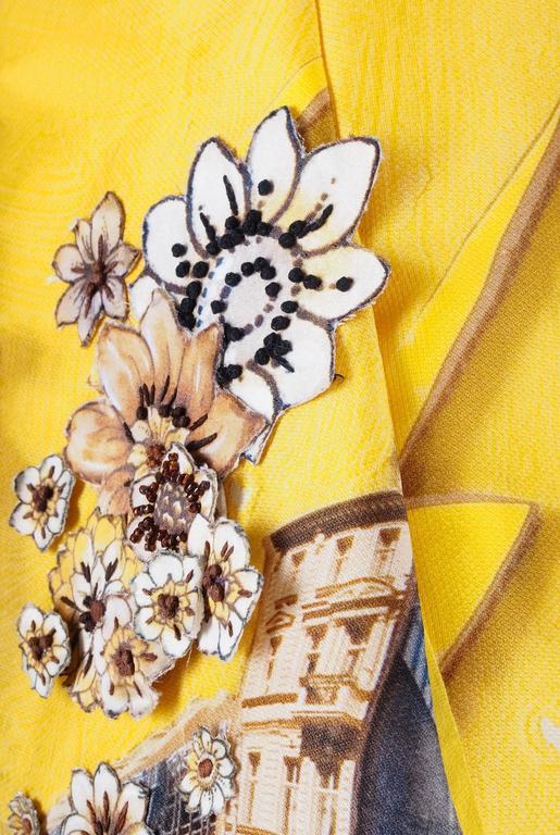 Versace Tim Roeloffs art print Dress 10