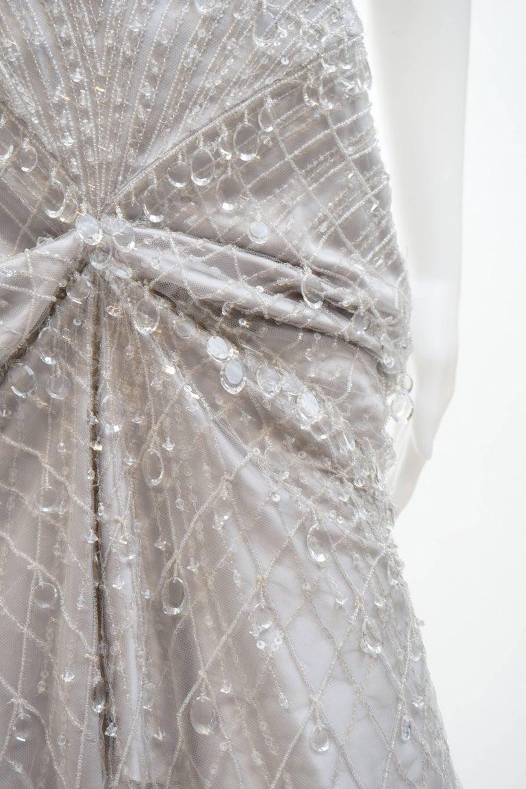 Gucci Crystal embellished dress For Sale 1