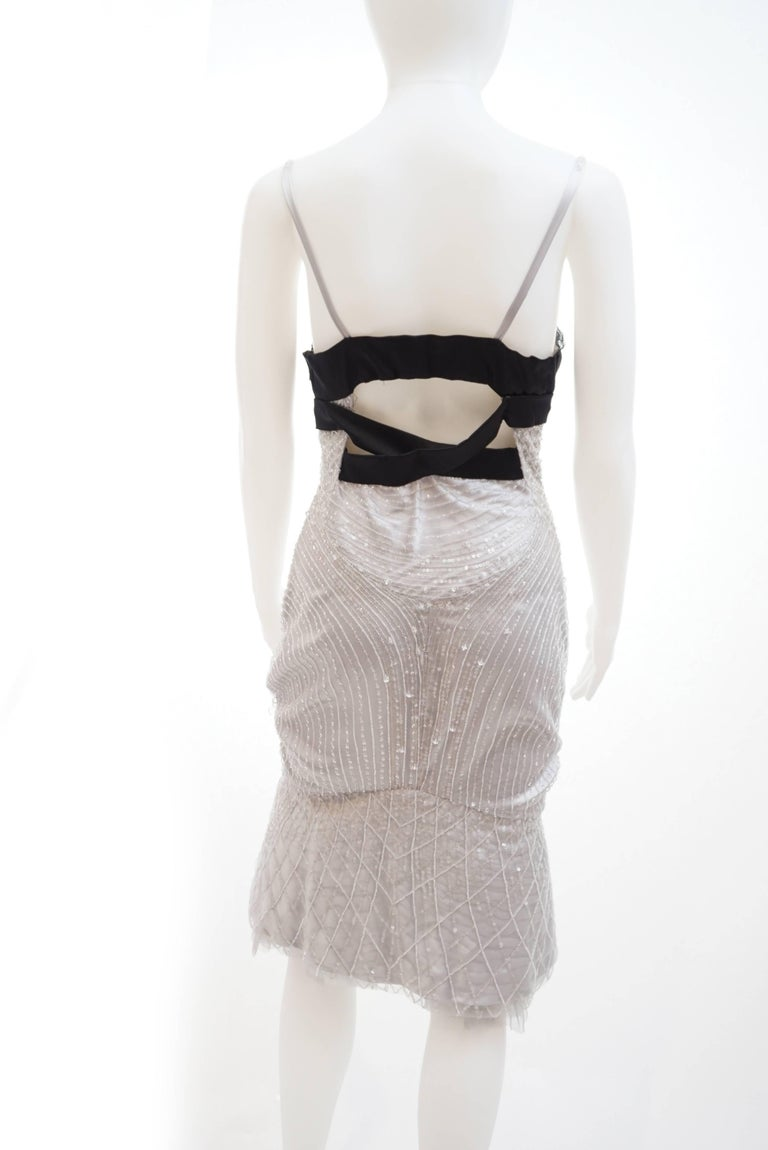 Gucci Crystal embellished dress For Sale 2