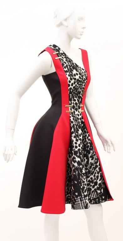 Versace color-block dress 3