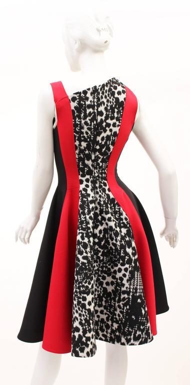 Versace color-block dress 5