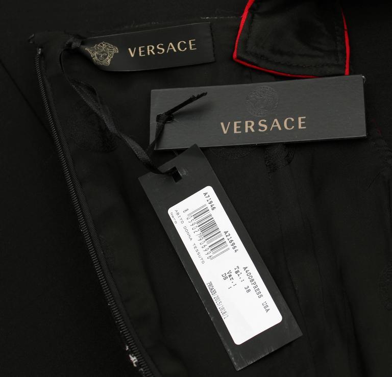 Versace color-block dress 8