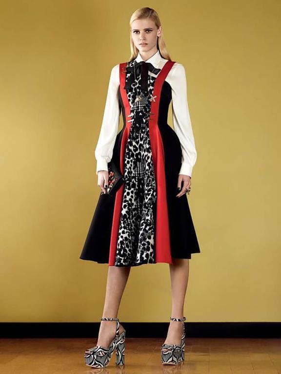 Versace color-block dress 10