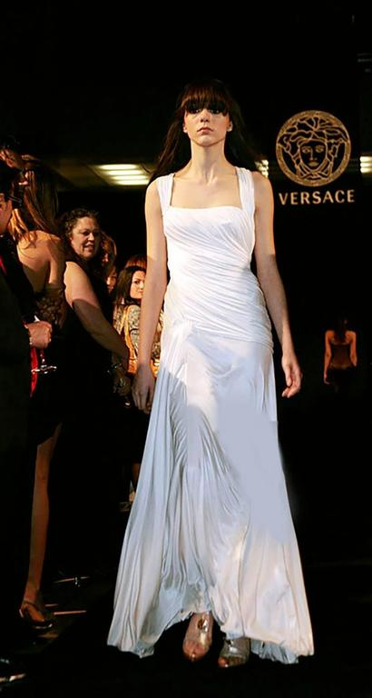 New Versace white gown 3