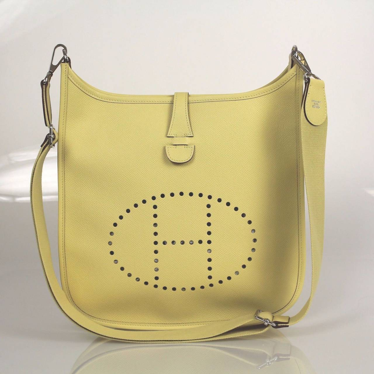 ... Epson Leather Evelyne Iii Pm Cross Body Bag For Sale at 1stdibs