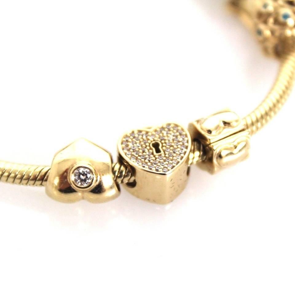 Solid Gold Pandora Bracelet For Sale Pandora Moments Bangle Pandora Au Bangles Glass Bangles And Wooden Bangles Jewelry Online