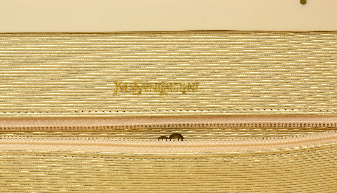 Fabulous Vintage Yves ?t. Laurent YSL Clutch Bag at 1stdibs