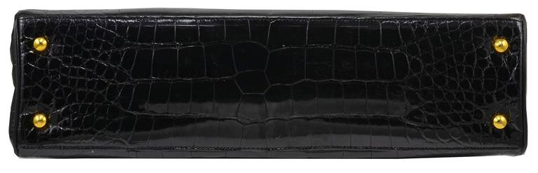 Women's Iconic Judith Leiber Alligator Bag with Jewel Encrusted Frame For Sale