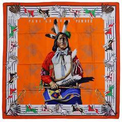 Iconic Hermes Pani La Shar Pawnee Scarf