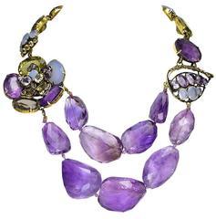 Amazing  Iradj Moini Amythest Necklace