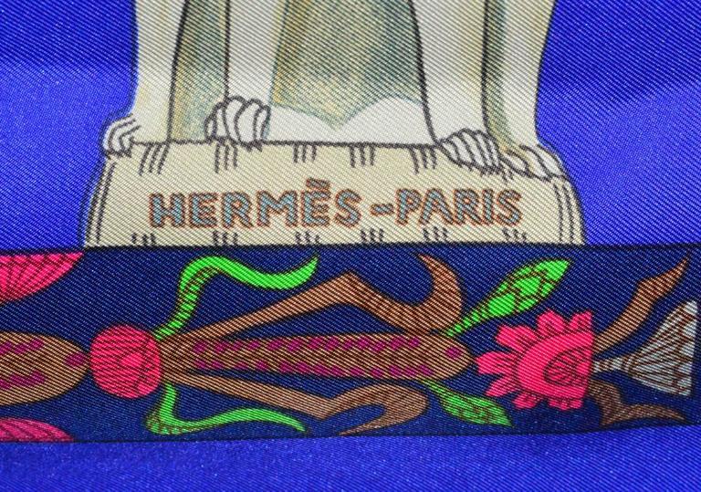 Gorgeous silk Hermes 35