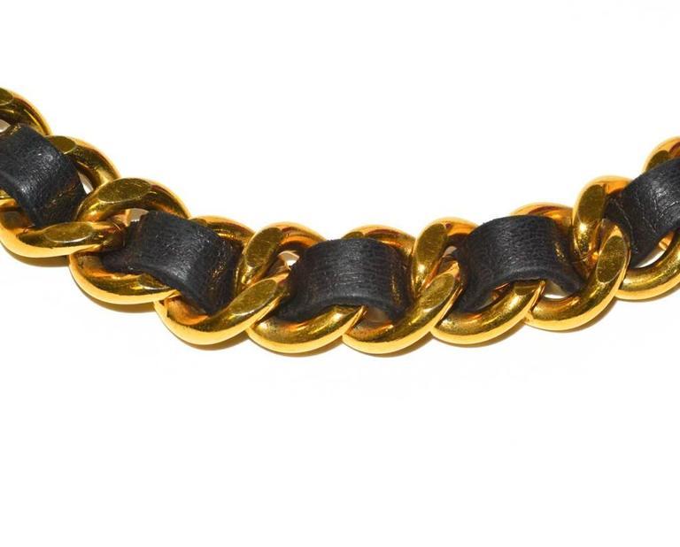 Classic Vintage Chanel Medallion Belt 3